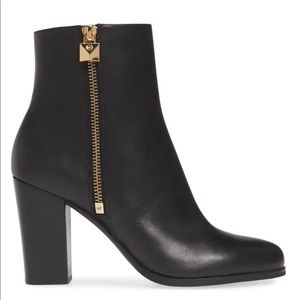 Michael Kors Frenchie Vachetta Leather Ankle Boot